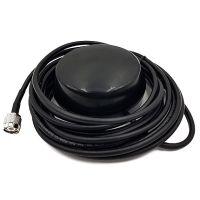 Усиленная автомобильная антенна с удлиненным кабелем 5 метров  для спутниковых телефонов Iridium  Внешняя магнитная автомобильная антенна для спутниковых телефонов Iridium обеспечивает устойчивый прием сигнала спутниковой связи в движении на транспортных средствах. Магнитная антенна крепится с внешней стороны транспортного средства.